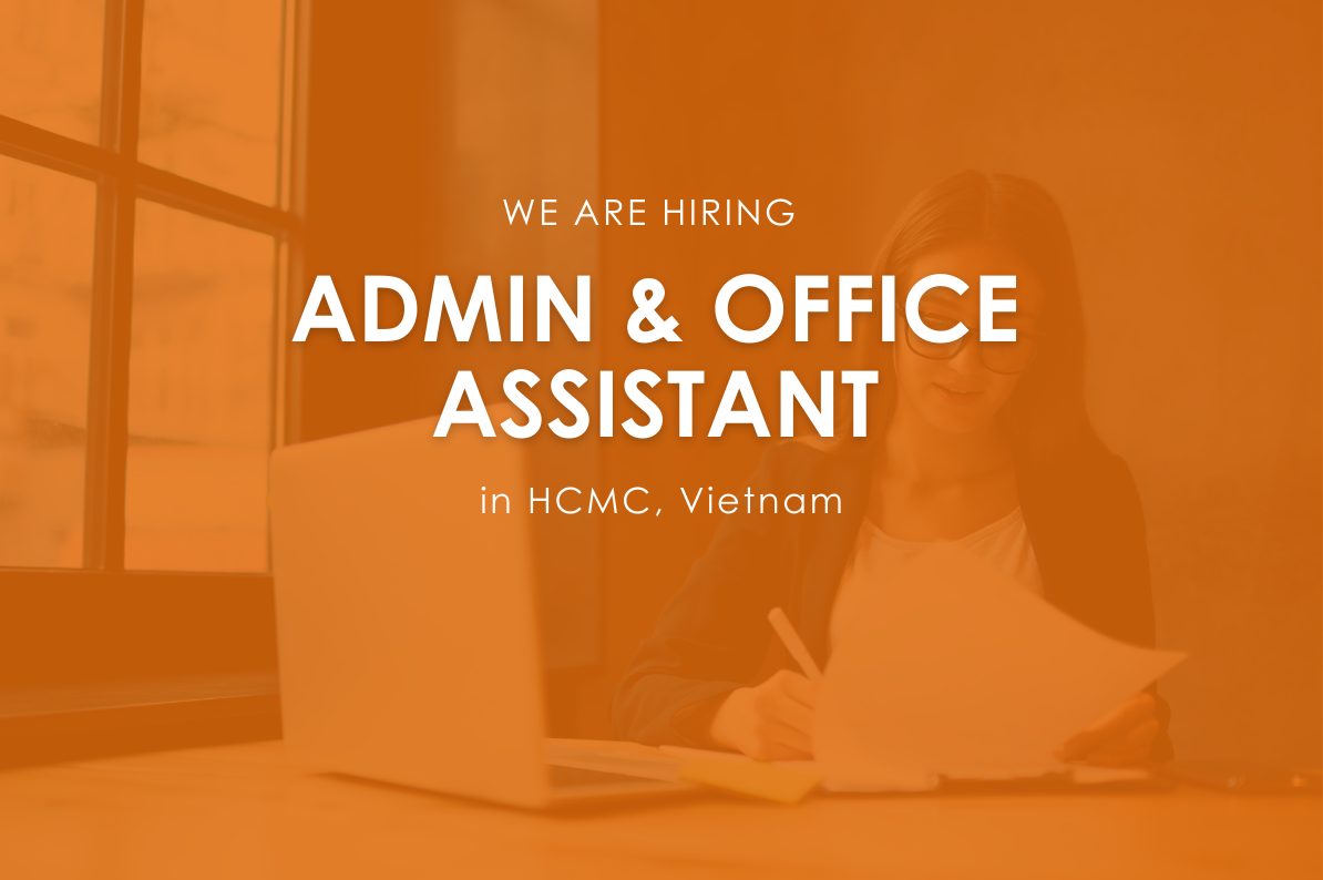 admin & office assistant job in HCMC